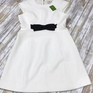 Brand new Kate Spade crepe bow dress.